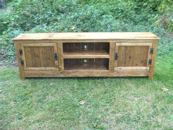 Trendy Rustic Furniture Tv Stands Pertaining To Rustic Furniture Tv Stands Pallet Stand Cabinet Sideboard Reclaimed (View 18 of 20)