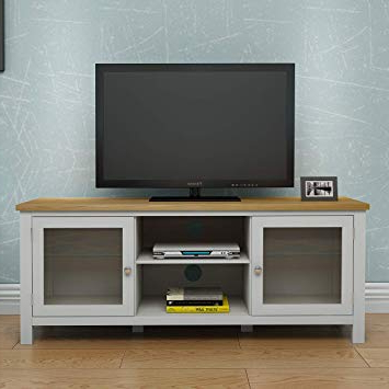 Trendy Solid Oak Corner Tv Cabinets Inside Keinode Tv Cabinet Modern Solid Oak Corner Tv Stand 2: Amazon.co (View 18 of 20)