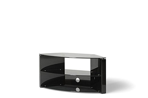 Trendy Techlink Bench Corner Tv Stands Regarding Techlink Bench B3B Audio Visual Furniture Corner Bench Piano Black (Gallery 20 of 20)