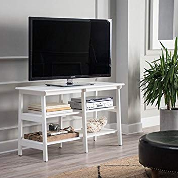 Trendy Tv Stands For Large Tvs In Amazon: Premium Furniture Usa Tv Stand For Flat Screen Large Tvs (View 13 of 20)