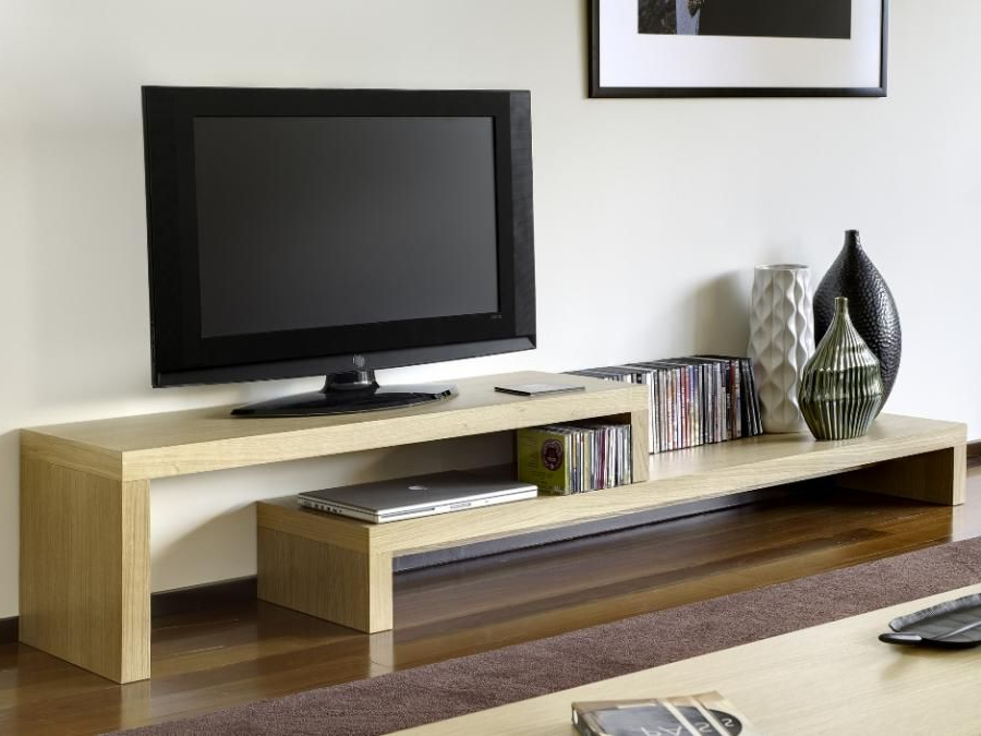 Trendy Tv Stands With Best And Newest Temahome Cliff Tv Stand & Shelf Unit, 3 Choices Of Finish – Trendy (View 8 of 20)