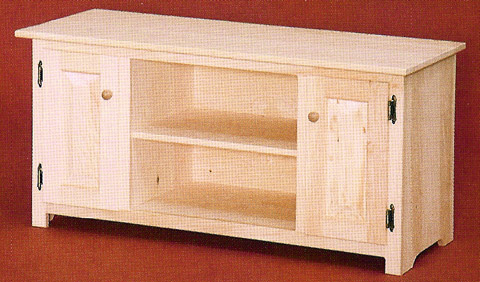 Trendy Unfinished Pine Tv Stands & Consoles Within Solid Pine Tv Cabinets (View 16 of 20)