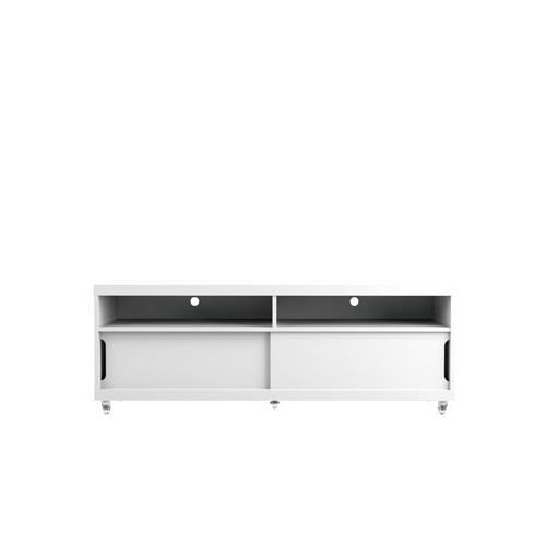 Trendy White High Gloss Tv Stand (Gallery 16 of 20)
