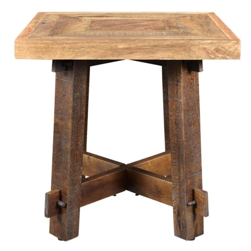 Trendy Worldwide Home Furnishings Occasional Tables Yukon 501 949 Accent Within Yukon Natural Console Tables (Gallery 11 of 20)