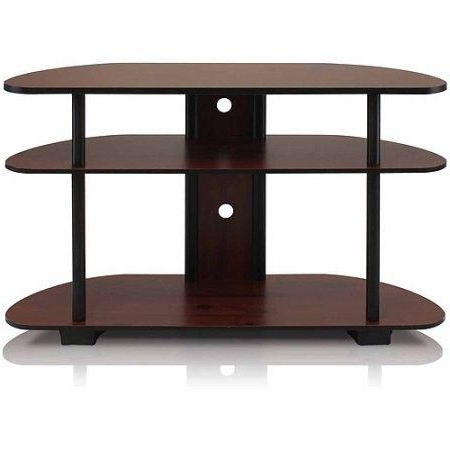 Turn N Tube 3 Tier Tv Stand Entertainment Center For Tvs Up To 42 Inside Recent Tv Stands For Tube Tvs (View 13 of 20)