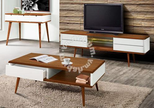 Tv Cabinet / Coffee Table / Kabinet – Furniture & Decoration For In Trendy Tv Cabinets And Coffee Table Sets (View 16 of 20)