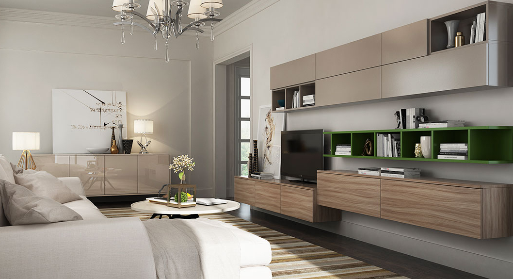 Tv Cabinets And Wall Units Inside Favorite Wall Tv Stand,gray Tv Stand Design – Oppeinhome (View 15 of 20)