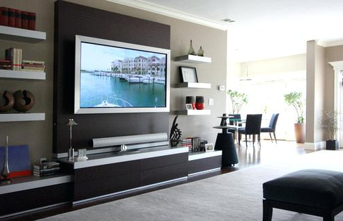Tv Cabinets And Wall Units Throughout 2018 Tv Wall Stand Beautiful Wall Unit Inside Stand For Decorations Tv (View 15 of 20)