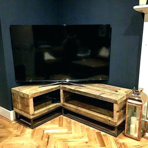Tv Cabinets Corner Units With Regard To Best And Newest Small Corner Tv Stand Corner Cabinet For Flat Screens Corner Stands (View 8 of 20)