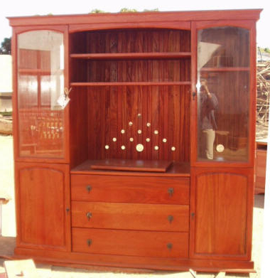 Tv Cabinets – Kubu Crafts Inside 2018 Tv Cabinets With Glass Doors (View 14 of 20)