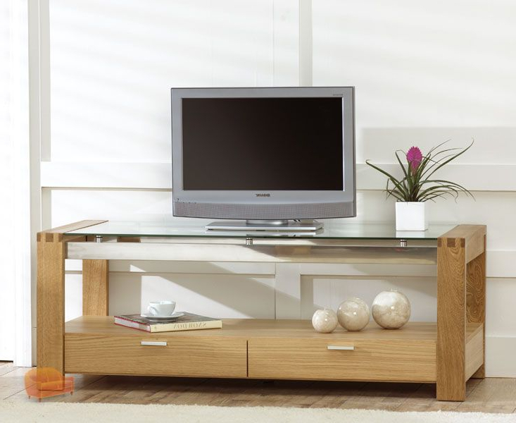Tv Cabinets, Units, Page 5 Throughout Preferred Wood Tv Stands With Glass Top (View 11 of 20)
