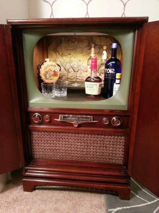 Tv Cabinets, Vintage Tv Pertaining To Funky Tv Cabinets (View 9 of 20)