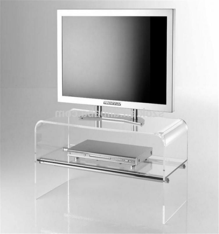 Tv Cabinets With Regard To Best And Newest Clear Acrylic Tv Stands (View 16 of 20)