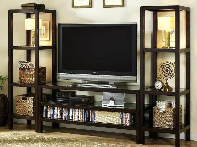 Tv Cabinets With Storage For Fashionable Decoration: Unique Cabinet With Storage Closet Furniture Wooden Tv (View 2 of 20)