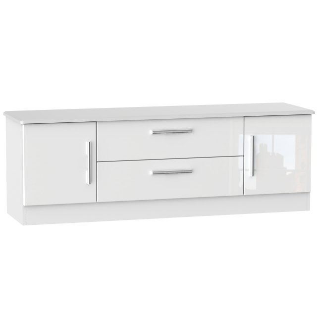 Tv Drawer Units Within Favorite Luna Wide 2 Door 2 Drawer Tv Unit – Tv & Entertainment Units (View 18 of 20)