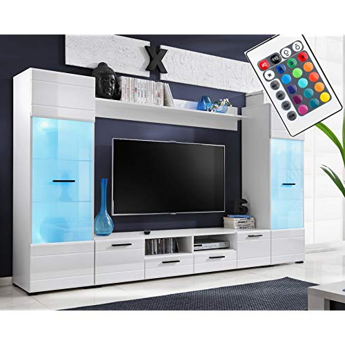 Tv Entertainment Units For Living Room: Amazon.co (View 6 of 20)