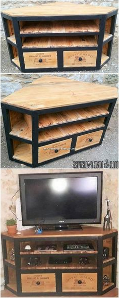 Tv Floor Stand, Glass Tv Stand (Gallery 13 of 20)