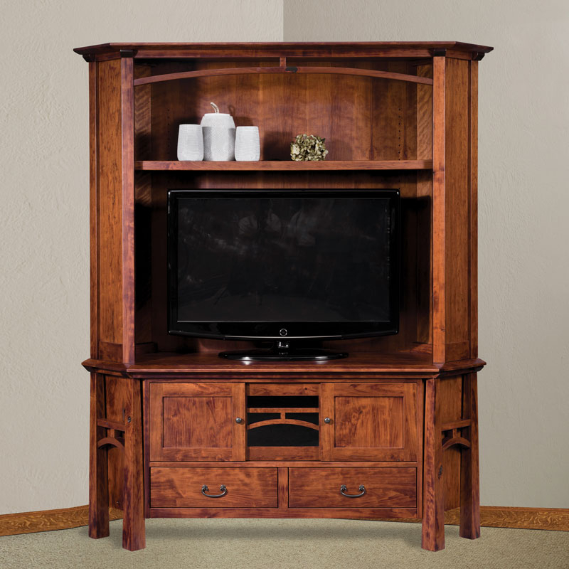 Tv Hutch Cabinets Inside Preferred Amish Entertainment Centers Furniture, Amish Entertainment Centerss (View 14 of 20)