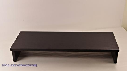 Tv Riser Stand With Well Known Tv Stand Riser Inside Standard Tv Risers Stands Desk Monitor Jims (Gallery 5 of 20)