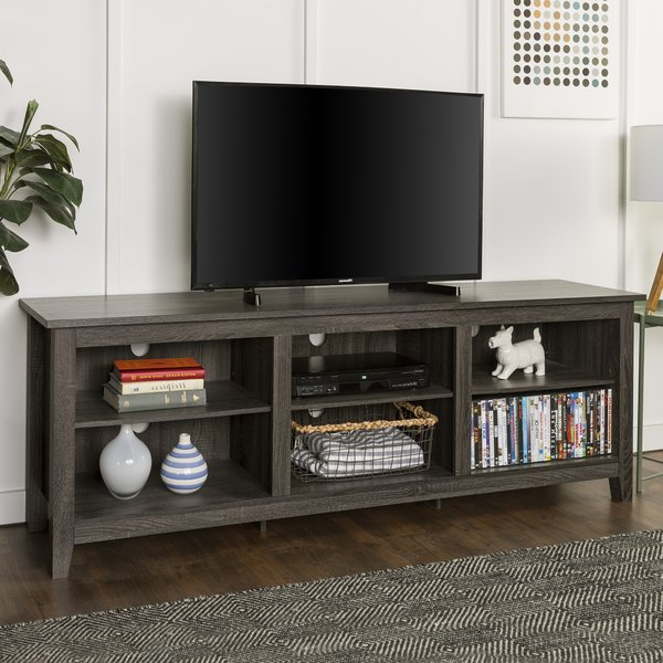 Tv Stand 60 In Gray (Gallery 1 of 20)