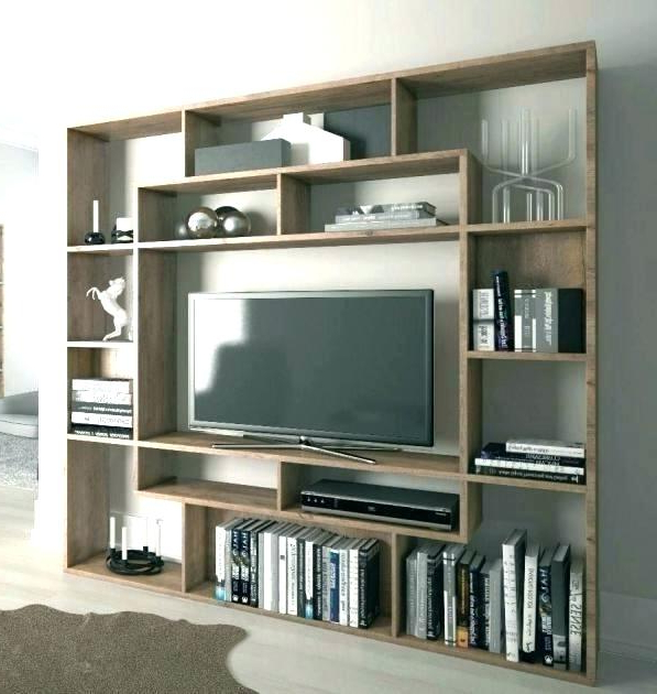 Tv Stand And Bookcase Combo – Yuzsekiz Inside Most Recent Tv Stands And Bookshelf (View 11 of 20)
