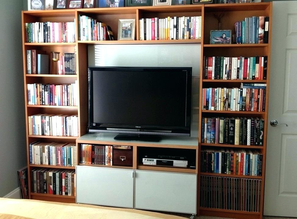 Tv Stand Bookshelf Combo – Gbkpjakpus Intended For Well Known Tv Stands Bookshelf Combo (View 10 of 20)