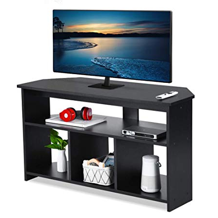 Tv Stand Cabinet,wooden Tv Cabinet Unit Stand For Tvs Up To 50 Inch Throughout Well Liked Wooden Tv Stands For 50 Inch Tv (Gallery 9 of 20)