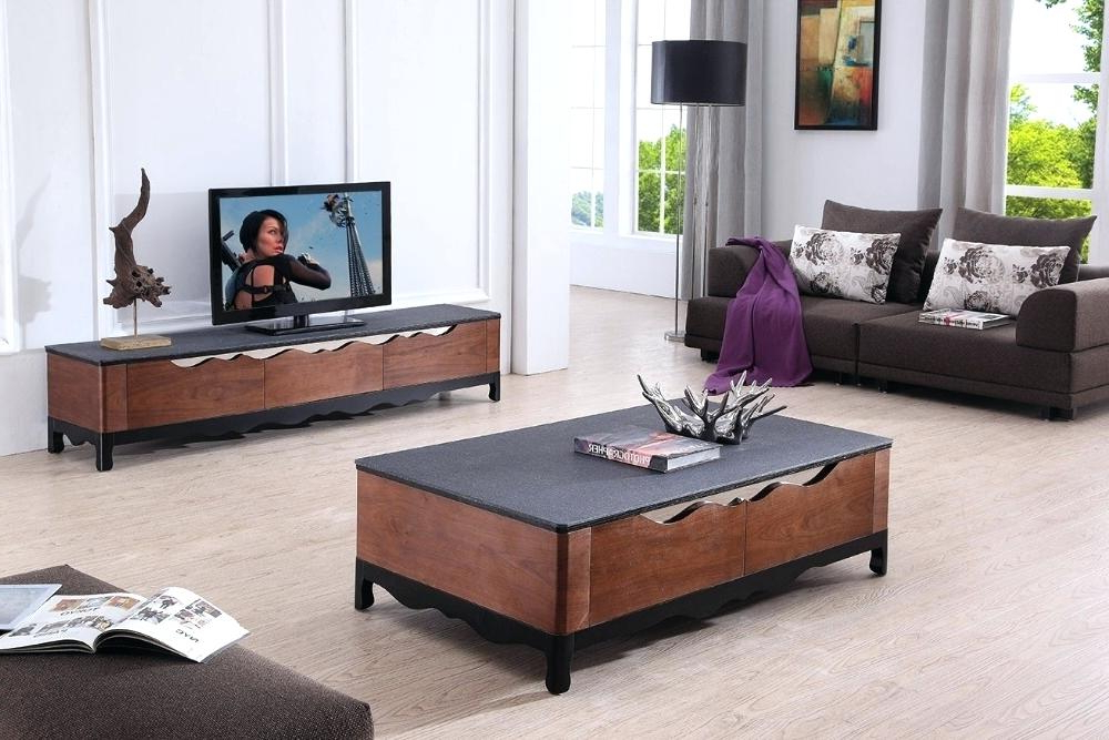 Tv Stand Coffee Table Sets With Regard To Well Known Tv Stand Coffee Table Set Matching White And Unit Sets Sideboard – Rlci (Gallery 14 of 20)
