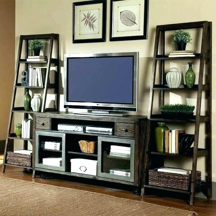 Tv Stand With Bookcase – Kairasi (View 12 of 20)