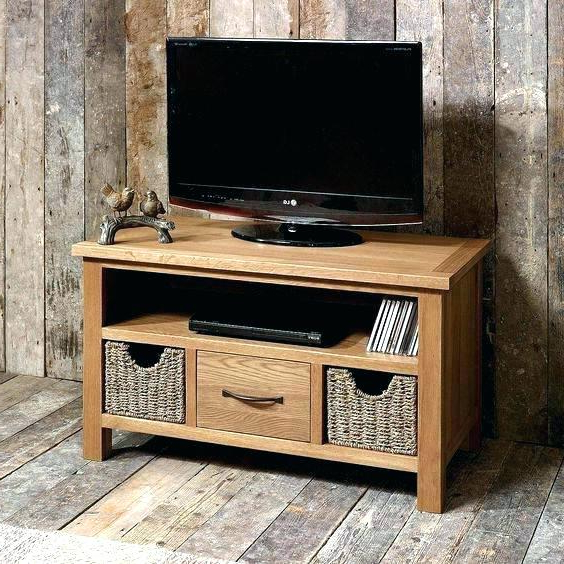 Tv Stand With Storage Bins Stand With Storage Bins Nice Wall Mounted Inside Most Up To Date Tv Stands With Baskets (View 3 of 20)