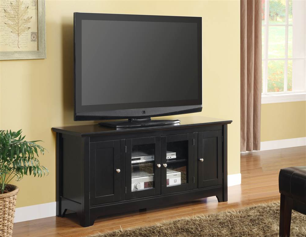 Tv Stands For 55 Inch Tv Throughout Favorite Liberty Furniture Brighton Park Tv Stand In Dark Honey – Walmart (Gallery 18 of 20)