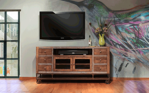 Tv Stands For 55 Inch Tv With Regard To Most Current Sedona 55 Inch Corner Tv Stand At Gates Home Furnishings – Gates (View 16 of 20)