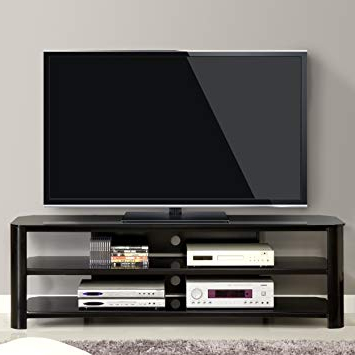 "Tv Stands For 70 Inch Tvs In Well Liked Amazon: Innovex Tpt65G29 Oxford Fold N Snap 65"" Glass Tv Stand (View 19 of 20)"
