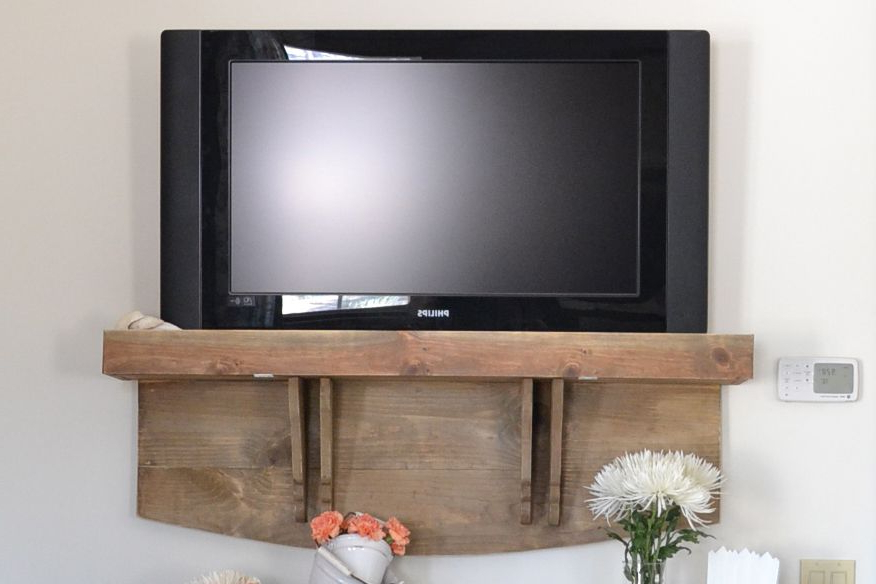Tv Stands For Small Spaces Pertaining To Most Recently Released 7 Ways To Make Your Own Tv Stand To Hide Ugly Cable Boxes And Wires (View 17 of 20)