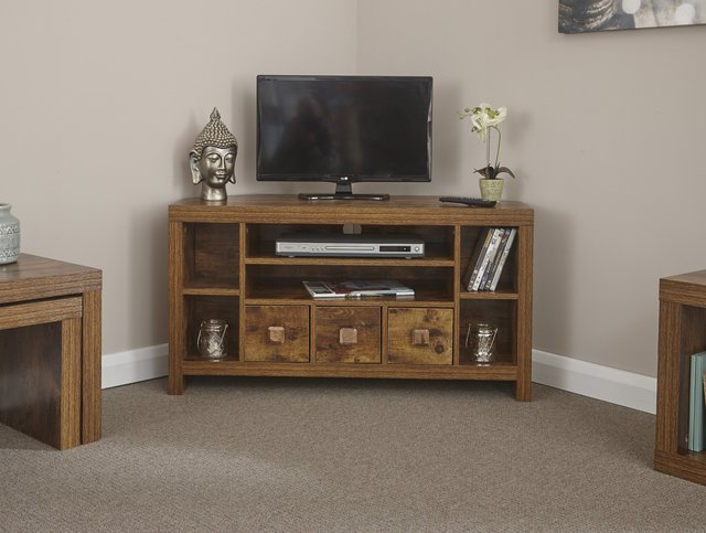 Tv Stands Inside Trendy Corner Tv Stands With Drawers (Gallery 20 of 20)