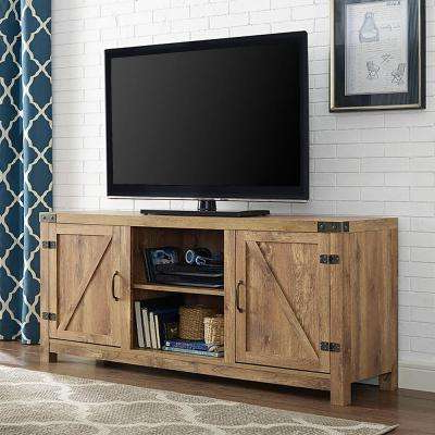 Tv Stands – Living Room Furniture – The Home Depot For Preferred Rustic Tv Cabinets (View 17 of 20)