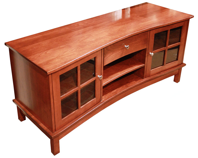 Tv Stands – Ohio Hardwood & Upholstered Furniture With Favorite Maple Tv Cabinets (View 17 of 20)