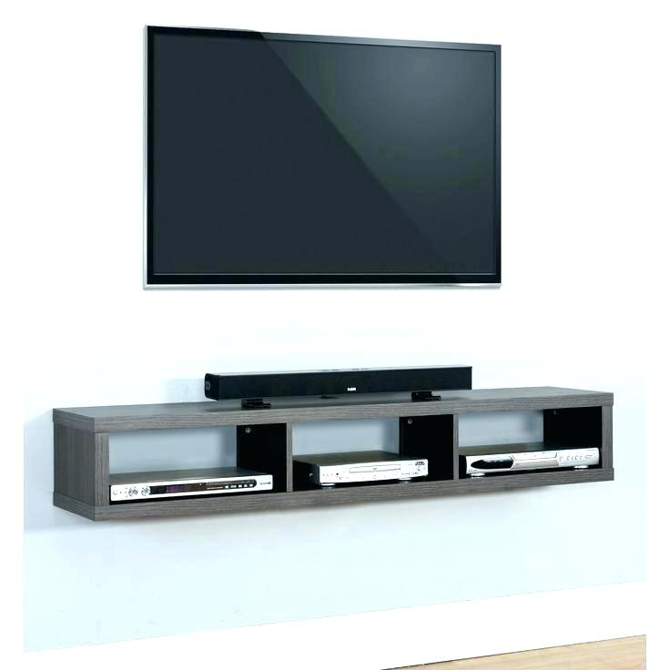Tv Stands That Mount On The Wall Tall Stand With Mount Wall Units With Newest Wall Mounted Tv Stands With Shelves (View 9 of 20)