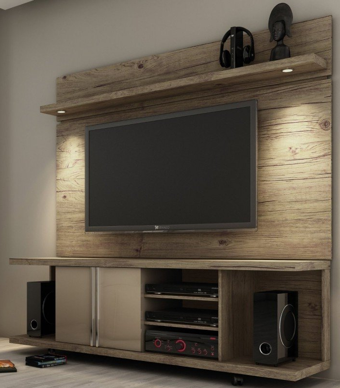Tv Stands With Back Panel In Recent Tv Stand With Back Panel – Ideas On Foter (View 5 of 20)