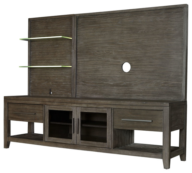 "Tv Stands With Back Panel Inside Current Albany 80"" Entertainment Console & Back Panel – Transitional (View 14 of 20)"