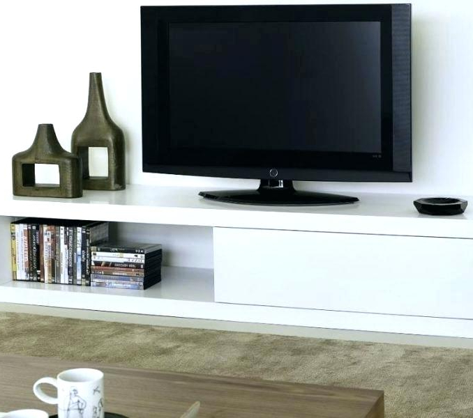 Tv Stands With Baskets For Most Recently Released Tv Stand With Storage Baskets Stands Storage White Stand With (View 16 of 20)