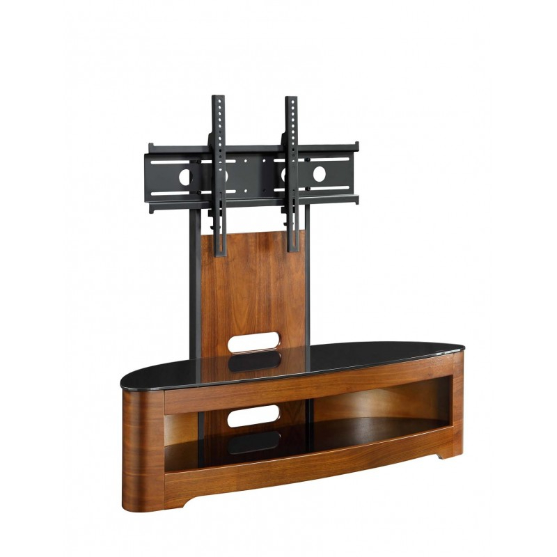 "Tv Stands With Bracket Throughout Widely Used Florence Walnut Tv Stand With Bracket Up To 50"" Tvs (View 17 of 20)"