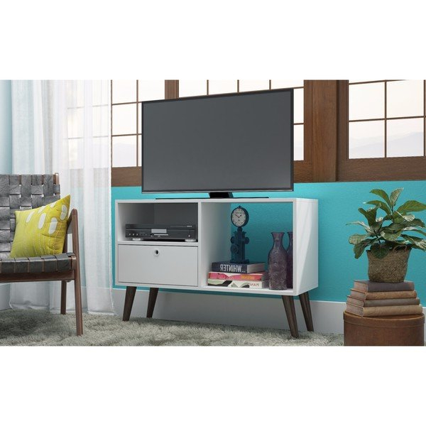 Tv Stands With Drawers And Shelves With Fashionable Shop Manhattan Comfort Bromma (View 15 of 20)