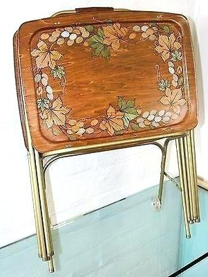 Tv Tray Plans Folding Tray Table Wood Tray Anthem Folding Tray Table In Favorite Tv Tray Set With Stands (View 11 of 20)