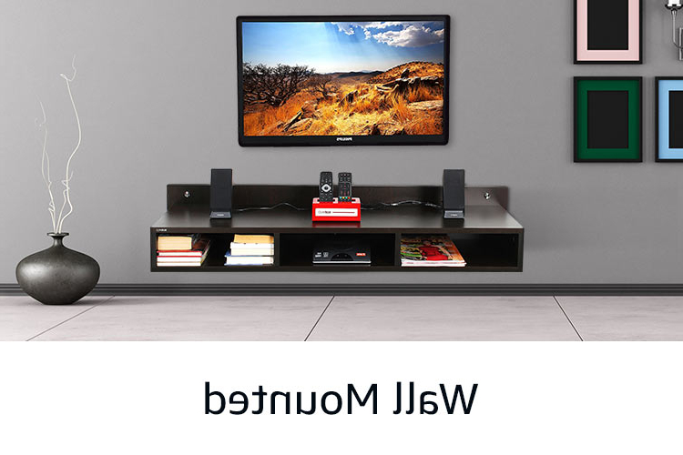 Tv Unit: Buy Tv Unit Online At Best Prices In India – Amazon.in In Famous Under Tv Cabinets (Gallery 20 of 20)