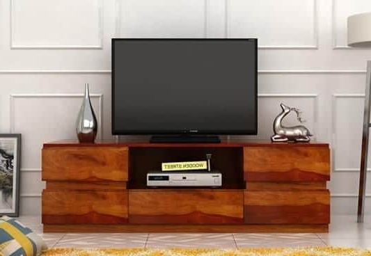 Tv Unit : Buy Wooden Tv Units & Stands (View 14 of 20)
