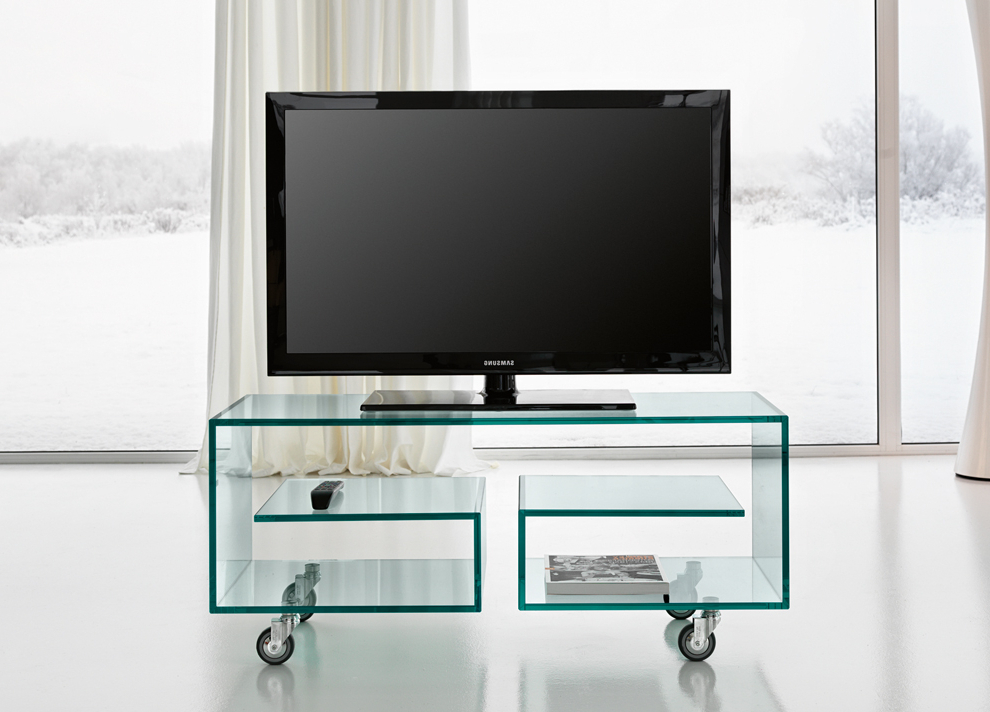 Tv Units & Modern Furniture Regarding Glass Tv Cabinets With Doors (View 14 of 20)