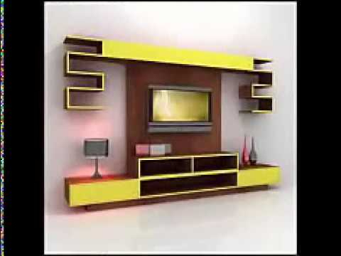 Tv Wall Cabinets Intended For Well Liked Best Tv Wall Cabinet Design Ideas For You – Youtube (View 16 of 20)