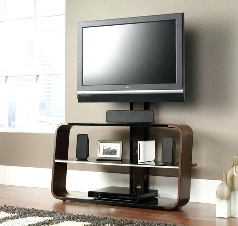 Unique Tv Stands With Preferred Beautiful Tv Stands And Mount L0135 Television Stand With Mounting (View 6 of 20)