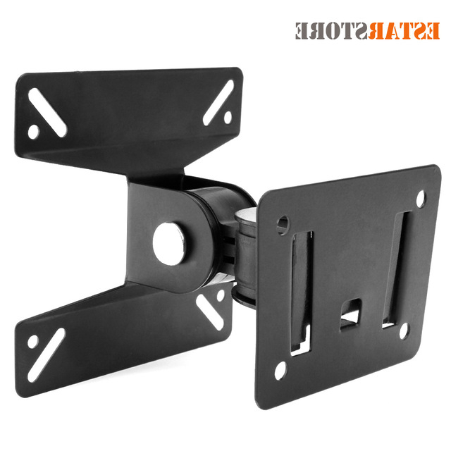 Universal 24 Inch Tv Stands In Latest Universal Rotated Tv Stand Holder Tv Wall Mount Bracket For 14 ~ 24 (Gallery 11 of 20)